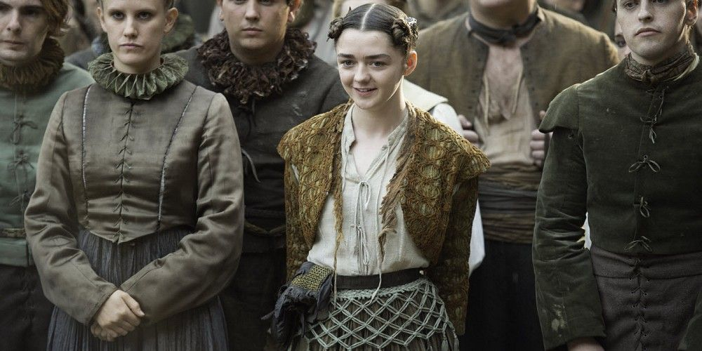Game of Thrones Season 6 Blood of My Blood Maisie Williams Arya cropped