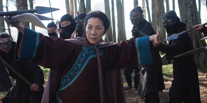 Michelle Yeoh in Crouching Tiger Hidden Dragon Sword of Destiny