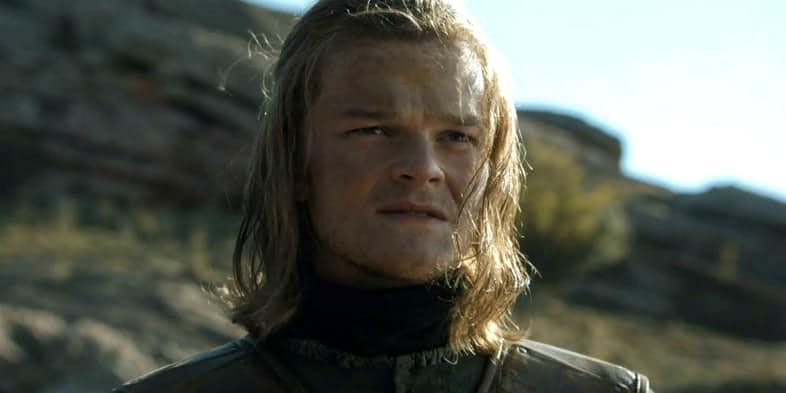 Robert Aramayo as Ned Stark in Game of Thrones Season 6