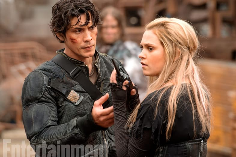 The 100 Season 4 Bellamy Clarke