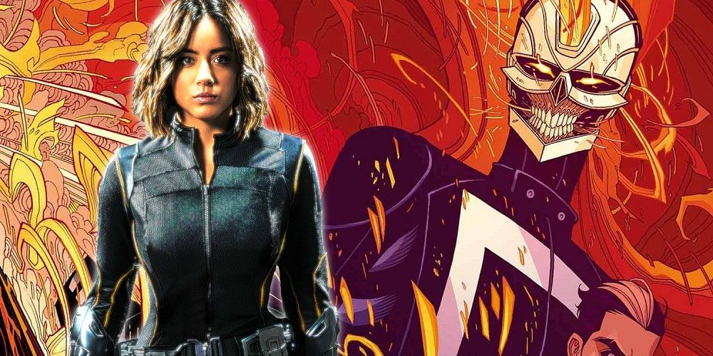 Chloe Bennet Ghost Rider Agents of Shield