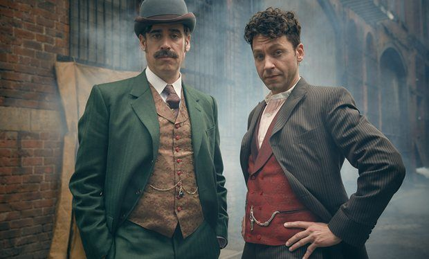 First look at Stephen Mangan playing Sherlock s creator Arthur Conan Doyle
