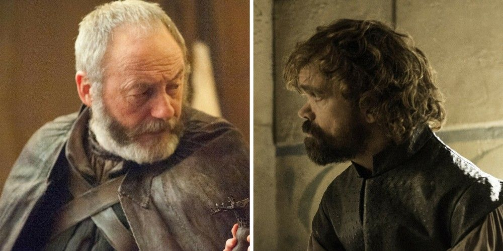 Game of Thrones Ser Davos Seaworth and Tyrion Lannister