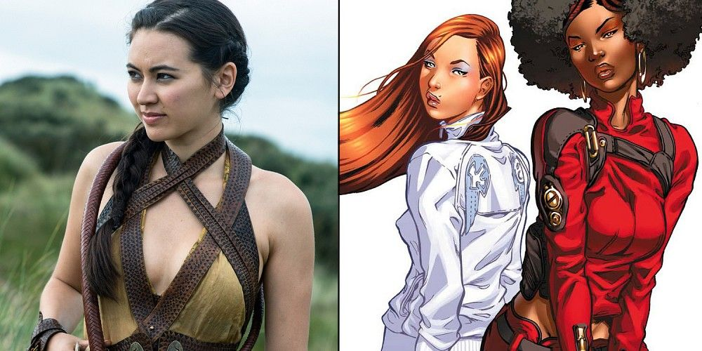 Jessica Henwick Colleen Wing and Misty Knight
