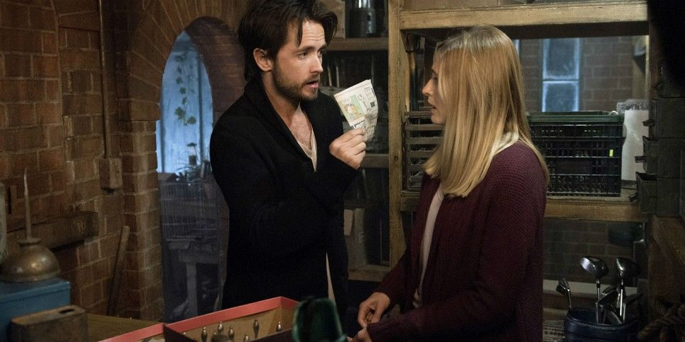 Justin Chatwin Megan Ketch American Gothic CBS