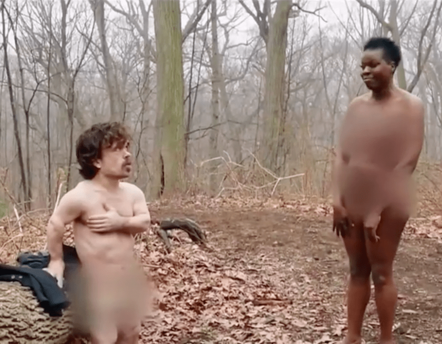 SNL Naked Afraid Celebrity Edition
