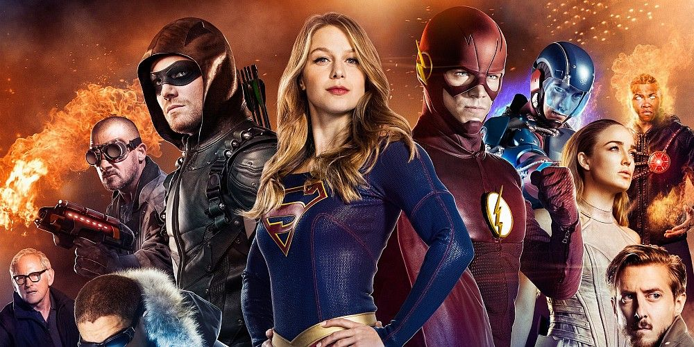 The CW Legends of Tomorrow Arrow The Flash Supergirl