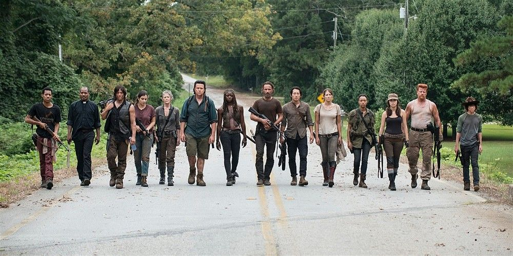 The Walking Dead Group Shot