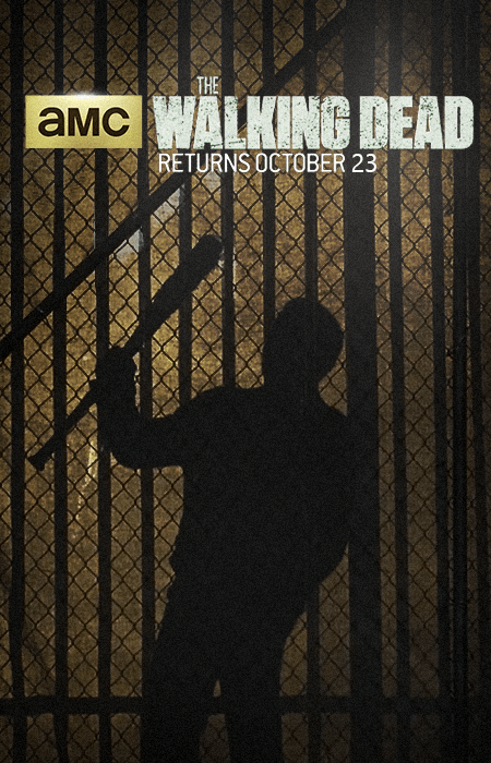 Walking Dead Season 7 Poster Negan In Silhouette