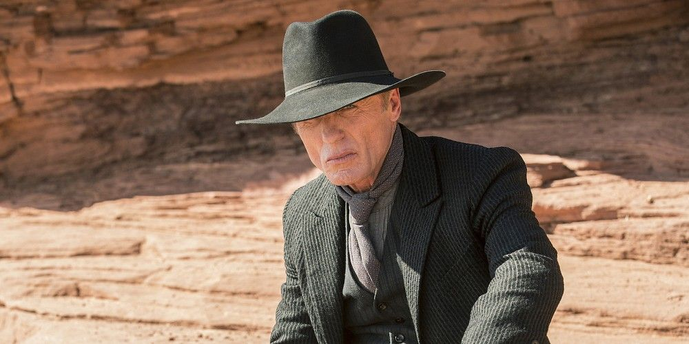 Westworld Season 2 Ed Harris Man in Black