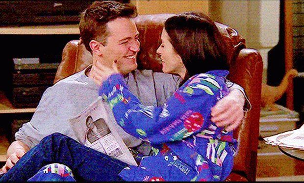 Why does everyone think Monica and Chandler are dating in real life