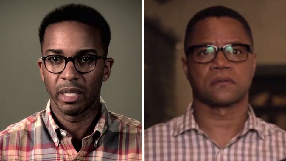 andre holland cuba gooding jr. split h 2016