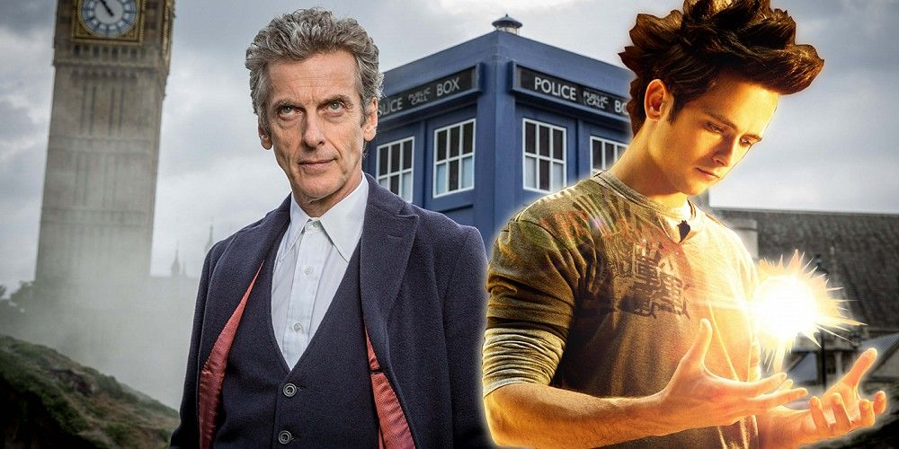 doctor who christmas special justin chatwin superhero peter capaldi