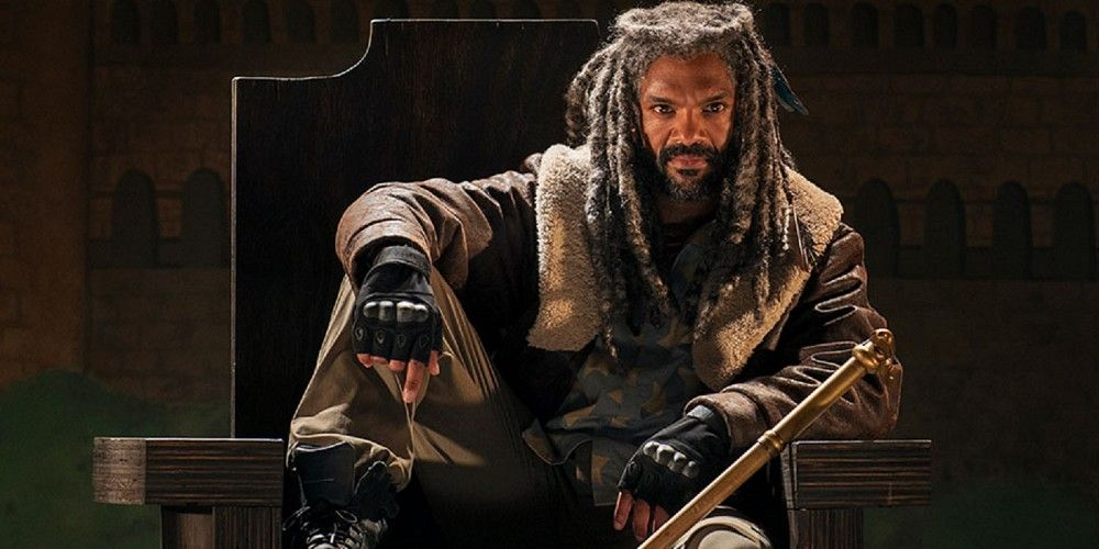 the walking dead season 7 ezekial payton