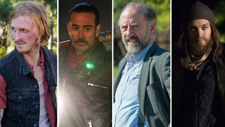 the walking dead split austin amelio jeffrey dean morgan xander berkeley tom payne h 2016