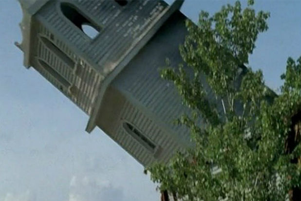 walking dead church tower