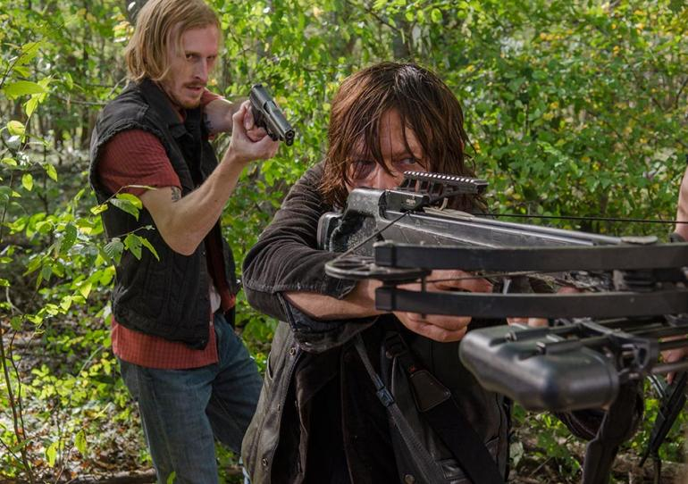 walking dead daryl and dwight