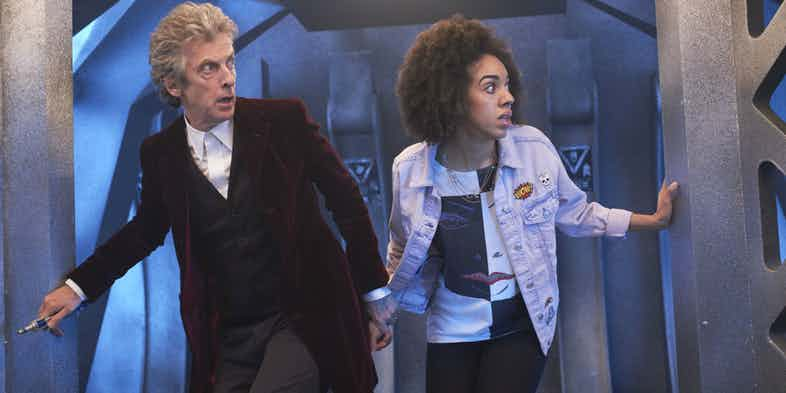 Doctor Who Season 100 Peter Capaldi and Pearl Mackie