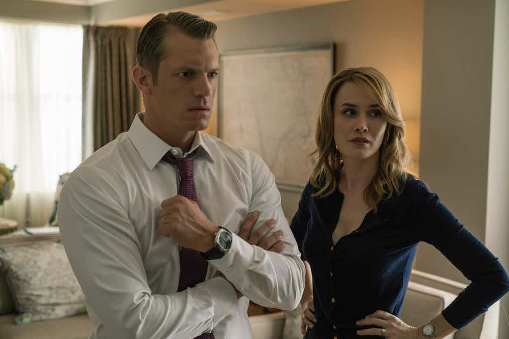 Joel Kinnaman as Will Conway in House of Cards