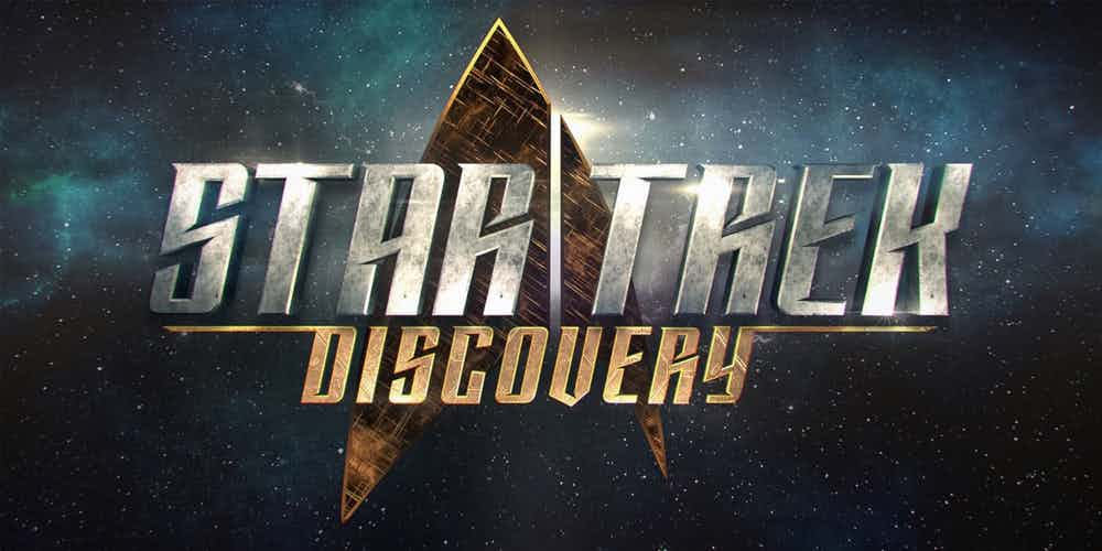 Star Trek Discovery Title Card Logo