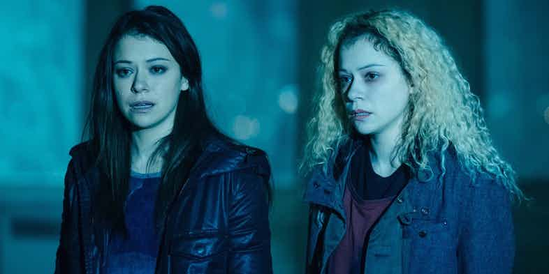 Tatiana Maslany stars in Orphan Black as Sarah and Helena