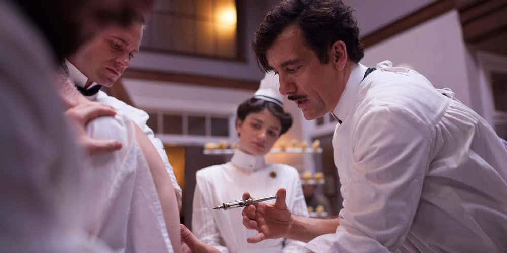 Clive Owen as Thack in The Knick