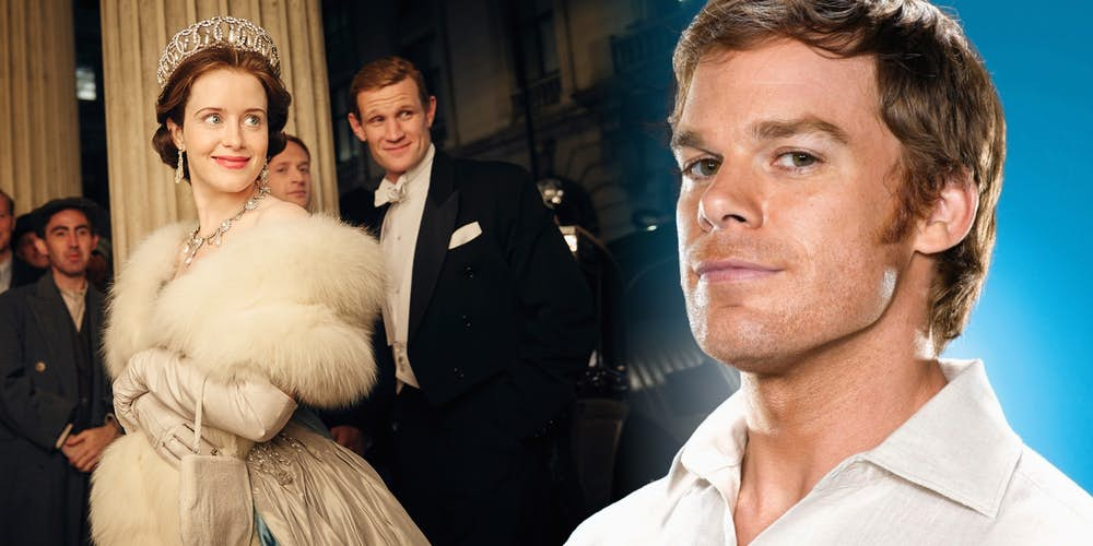 Claire Foy Matt Smith and Michael C. Hall