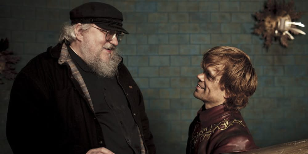 George R.R. Martin Game of Thrones Show Finish Before Books