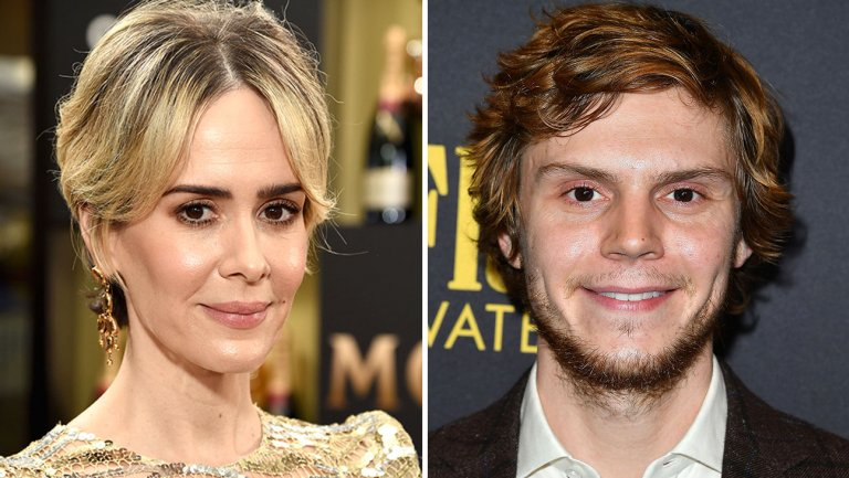 sarah paulson and evan peters split h 2017