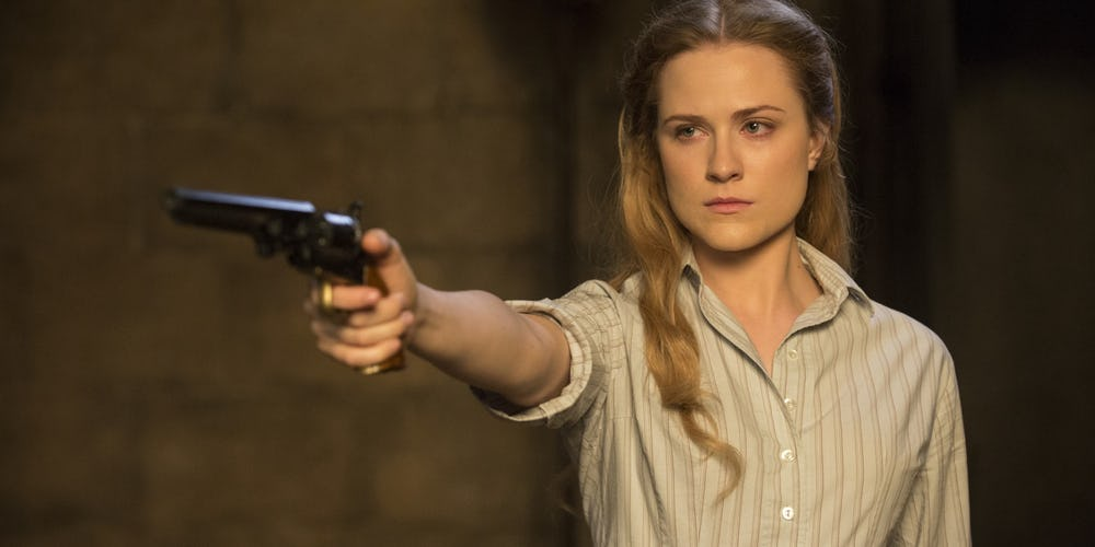 Evan Rachel Wood in Westworld Season 1 Episode 5