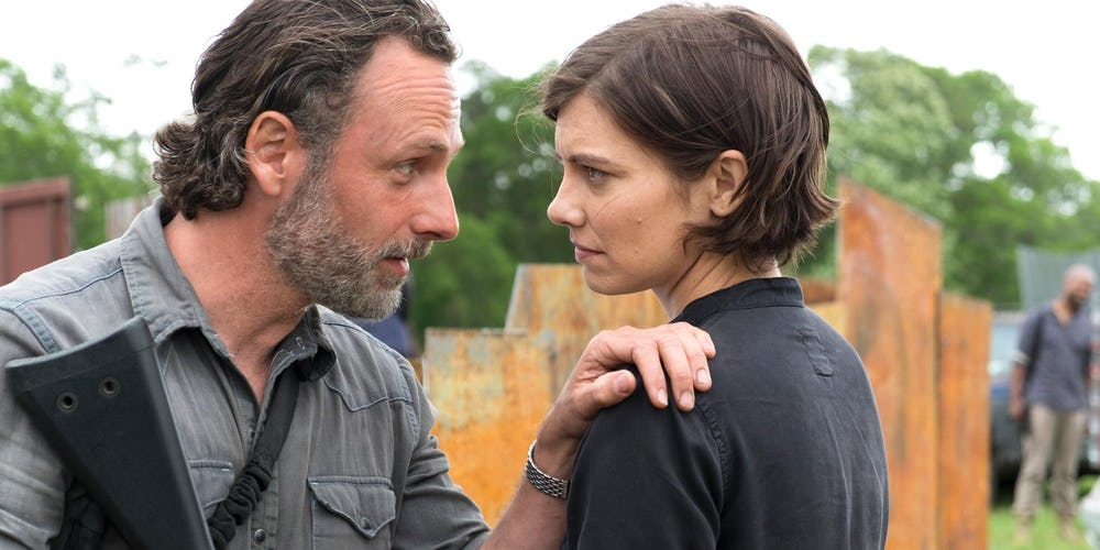 Walking Dead Season 8 Photo Rick Maggie