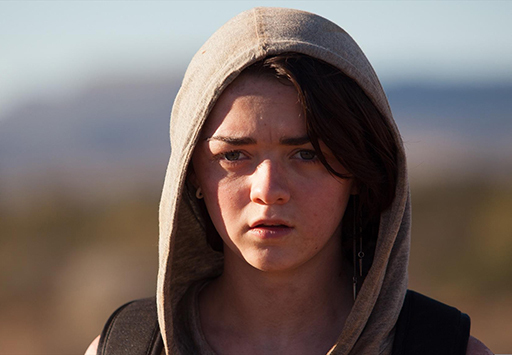 maisie williams heatstroke