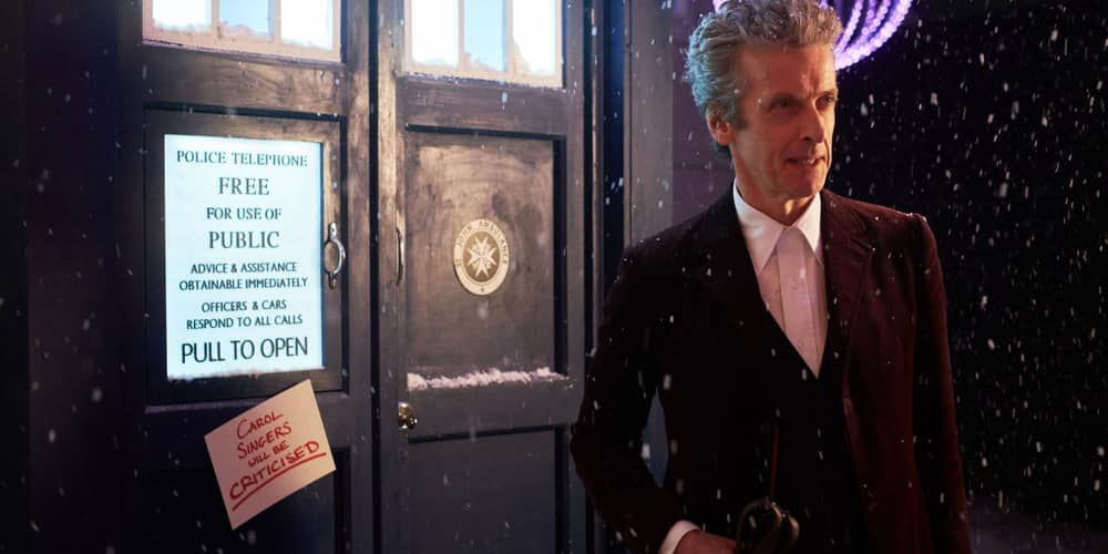 Peter Capaldi as The Twelfth Doctor in Doctor Who Christmas Special 2015