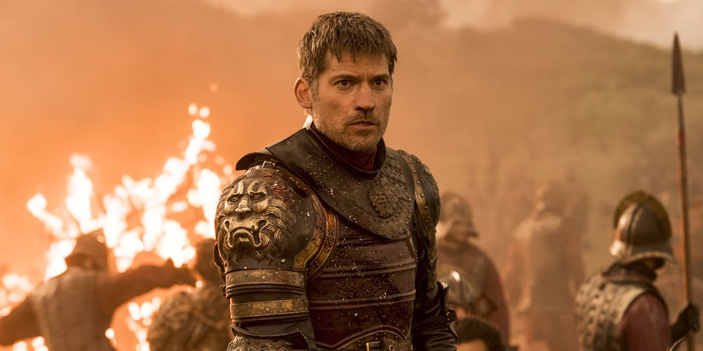 Game of Thrones Nikolaj Coster Waldau Jaime Lannister Season 7