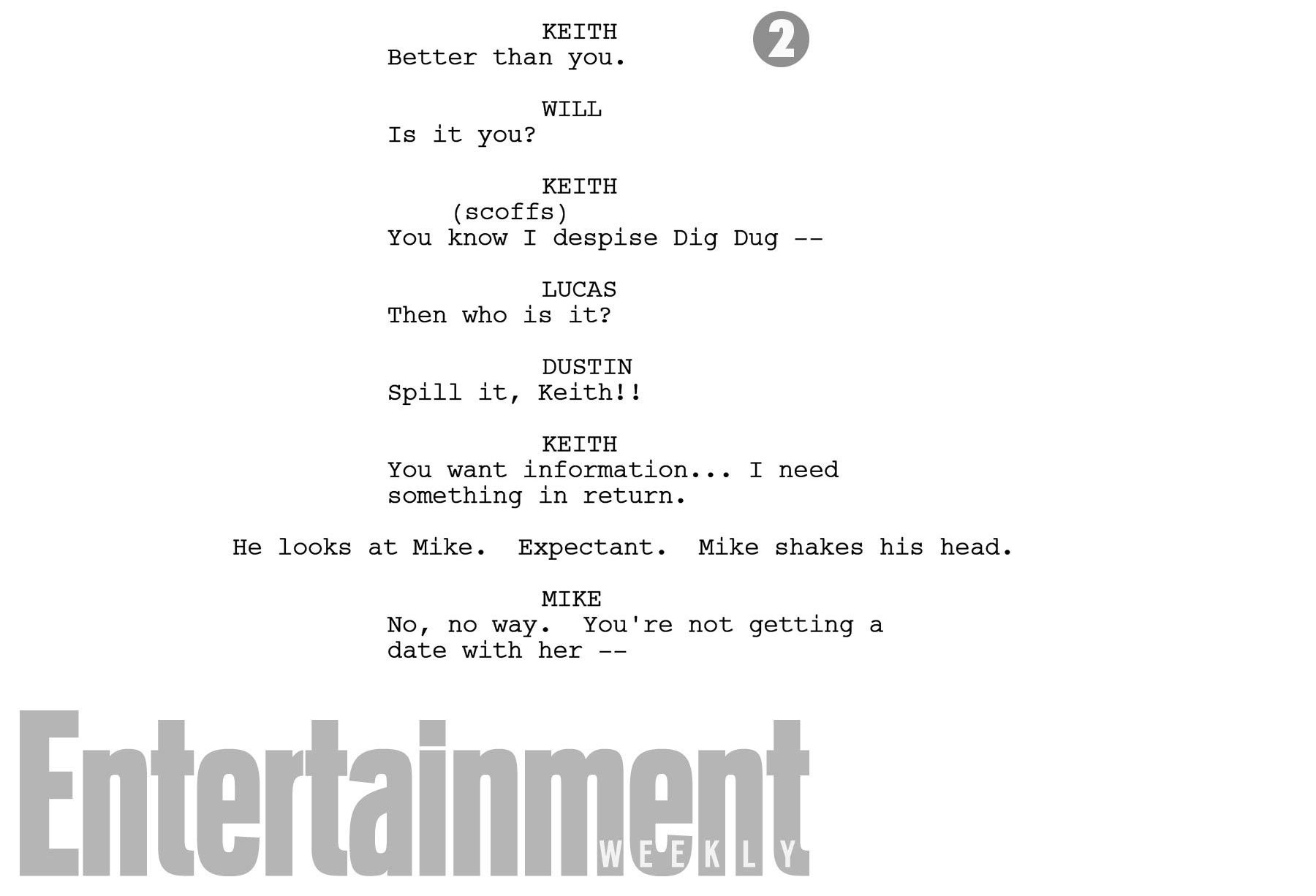 stranger things script page b